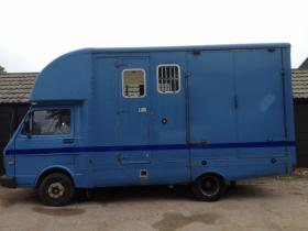 For sale: 1996 P Reg VW LT35 3.5 ton Horsebox for sale - REDUCED