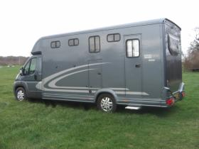 For sale: Equitrek Victory Peugeot Boxer Horsebox