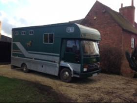 For sale: C Reg Ford Cargo Horsebox for sale