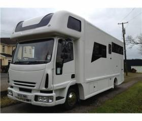 For sale: Smart, modern Horsebox