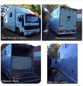 For sale: 7.5 ton horsebox (non HGV)