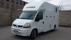 For sale: 3.5t renault master horsebox brand new conversion